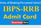 RRB IBPS Group I Officer Admit Card 2019; Download RRB Hall Ticket At ibps.in