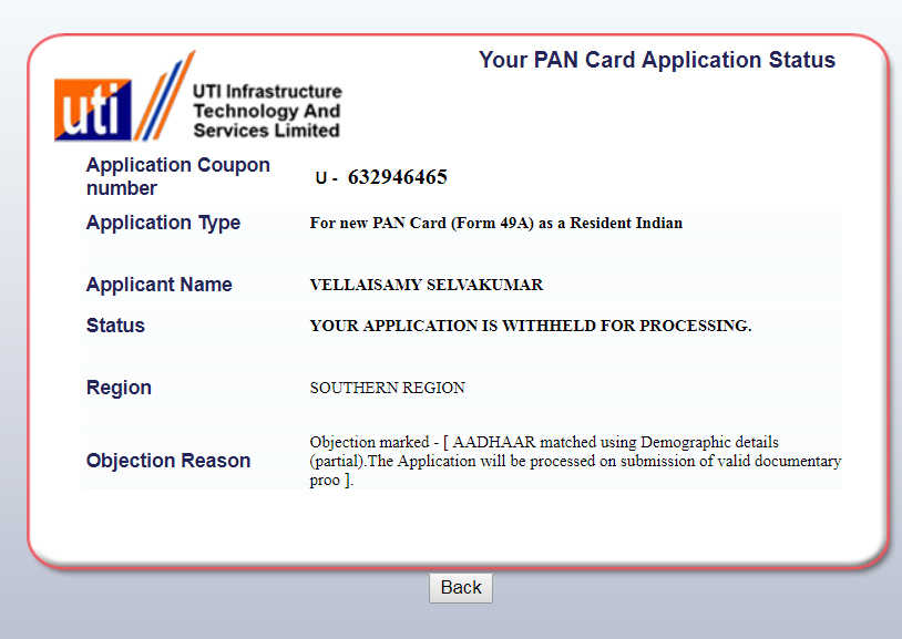 How To Check PAN Card Status Online Through NSDL And UTI Websites